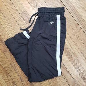 Nike Sportswear Sweat Pants black/white Sz M(8-10)